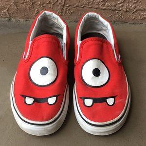 Women Vans Yo Gabba Gabba Shoes size 7.5